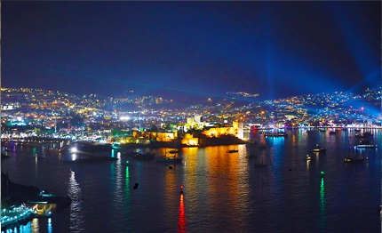 Bodrum by night